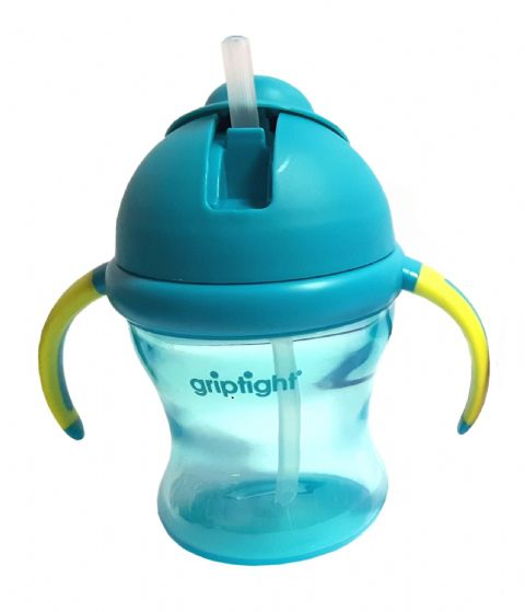 Griptight - Weaning Straw Cup - Turquoise